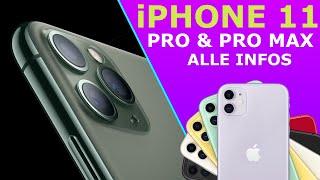 iPhone 11 vs iPhone 11 Pro (Max): Die Unterschiede, die Kameras, neue Funktionen I Deutsch