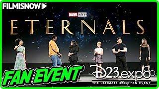 Marvel Studios' THE ETERNALS (2020) | D23 Presentation & Interviews