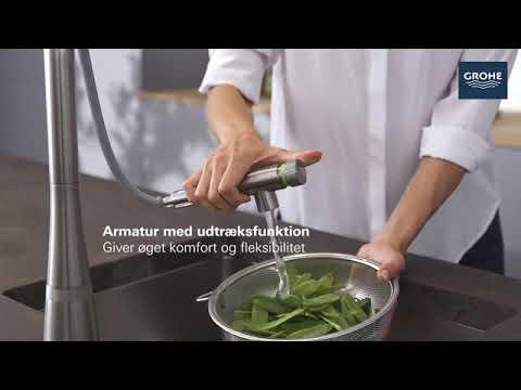 SmartControl innovativt køkkenarmatur - GROHE
