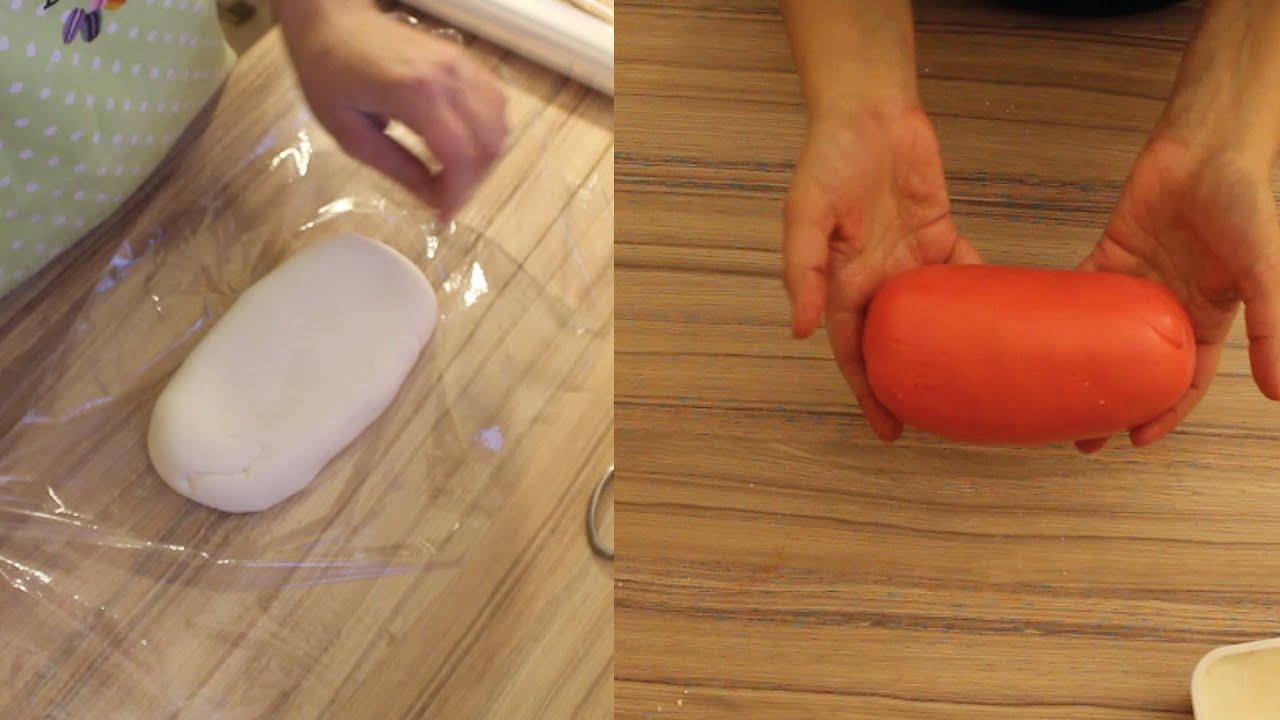 marshmallow fondant selber machen und farbigen fondant herstellen schritt f r schritt youtube
