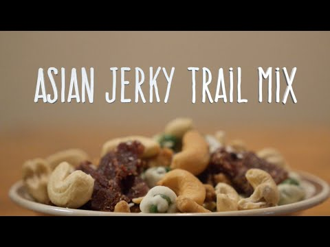 Asian Jerky Trail Mix from Perky Jerky