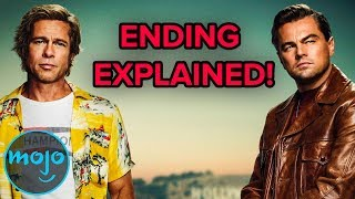 Once Upon a Time in Hollywood - Ending Explained