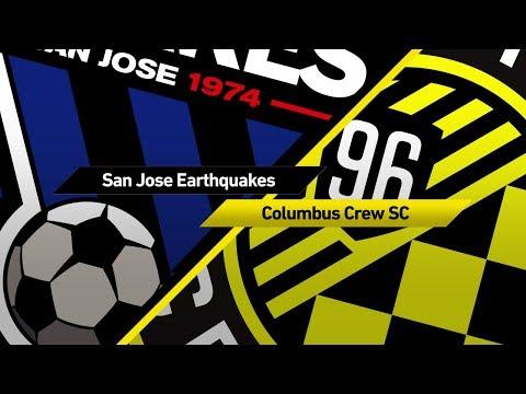 San Jose Earthquakes vs Columbus Crew