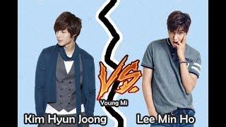 Kim Hyun Joong VS Lee Min Ho ¿Quien es el mejor?