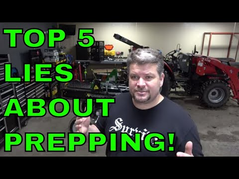 Top 5 Lies About Prepping