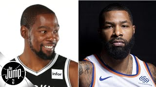 Kevin Durant gets subtweeted by Marcus Morris over his 'cool' comments   The Jump
