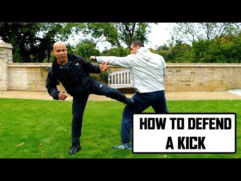 Defending the kick   Wing Chun Combat