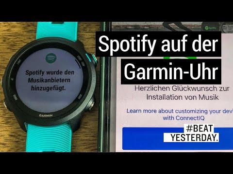 Spotify auf deiner Garmin Smartwatch: So kommen deine Playlists auf die Uhr | #BeatYesterday