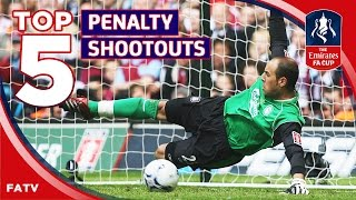 Best FA Cup penalty shootouts | Top Five