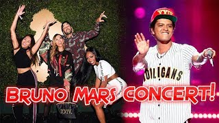 DANCING ON THE FLOOR AT BRUNO MARS!! | Liane V