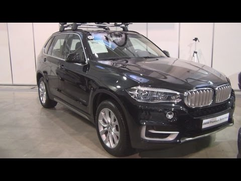 BMW X5 xDrive 40d Black Sapphire (2015) Exterior and Interior in 3D