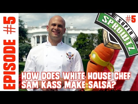 "Episode #5 - ""How Does White House Chef Sam Kass Make Salsa?"""