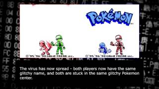 """Creating a """"virus"""" for Pokemon Red and Blue (self replicating save file!!)"""