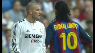 Ronaldinho & Beckham Masterclass In El Clasico 2004
