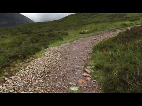 Video op YouTube: West Highland Way - walking Devil's Staircase (POV)