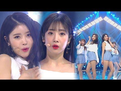 《HEALING SONG》 Lovelyz(러블리즈) - 그날의 너 @인기가요 Inkigayo 20180520