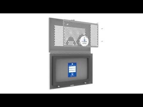 IRISS IR Window With Built In Ultrasound Port