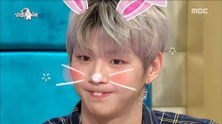 [RADIO STAR] 라디오스타 Kang Daniel's dance to finish with his front teeth personality ♬20180321