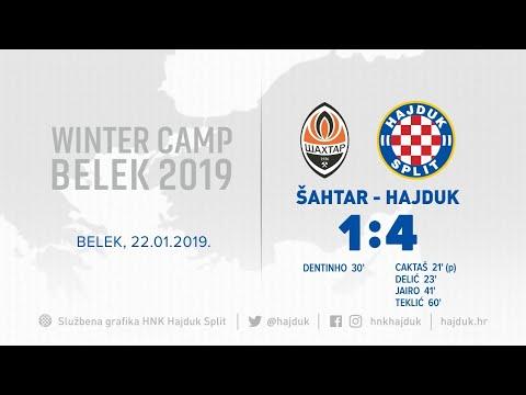Cijela utakmica: Šahtar Donjeck - Hajduk 1:4