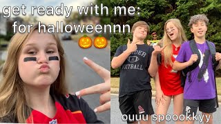 HALLOWEEN GET READY WITH ME & MY BF