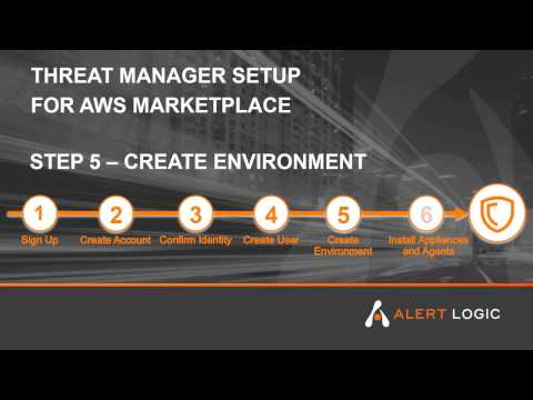 Alert Logic Threat Manager Plus ActiveWatch for AWS Marketplace - Step 5