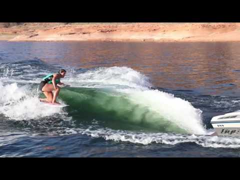 Emily Agate at Lake Powell