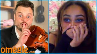 Classical Violinist Surprises Omegle with HIP-HOP