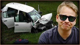 JAK JSEM MÁLEM UMŘEL (autonehoda)