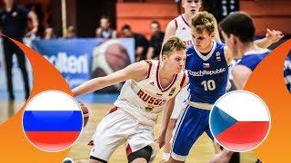 Russia v Czech Republic - Semi-Final - Full Game - FIBA U16 European Championship Division B 2018