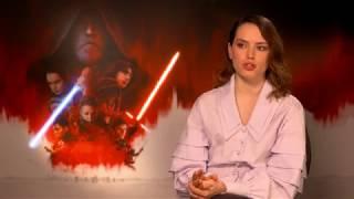 STAR WARS - THE LAST JEDI Interview Daisy Ridley - Rey - Fear - spricht deutsch / speaks german