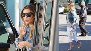 Queen Of Fashion, Kim Kardashian Running Errands In Stilettos  [2014]