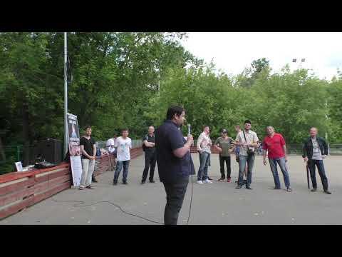 Митинг за отмену 106 статьи УК России. Выступление Иоганна Себастьяна photo