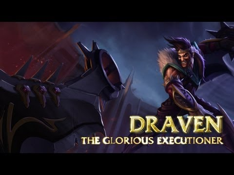 Draven: Champion Spotlight | Gameplay - League of Legends