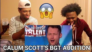 Golden boy Calum Scott hits the right note | REACTION | Britain's Got Talent 2015