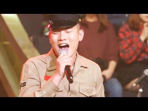 감성이 촉촉, 해병대 군인! '가지마 가지마' @보컬 전쟁, 신의 목소리-5회 20160504