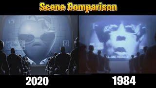 Nineteen Eighty-Fortnite vs 1984 Apple Macintosh Commercial Comparison