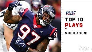 Houston Texans' Top 10 Plays at Midseason! | 2019 NFL Highlights