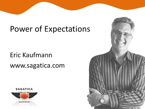 Power of Expectations - 1 min Exec Tip from Eric Kaufmann