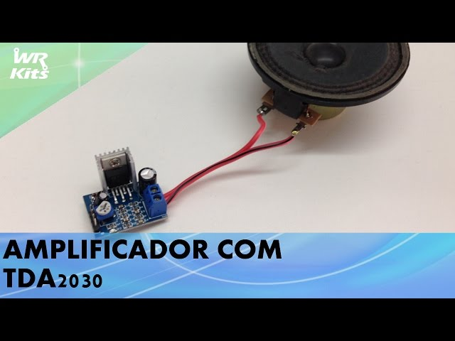 AMPLIFICADOR 18W COM TDA2030