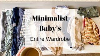 MINIMALIST BABY CLOTHES   BABY ESSENTIALS 2020   MINIMALISM