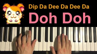 The Hampsterdance Song (Piano Tutorial Lesson)
