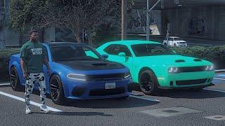 GTA 5 Mods #92 Buying A 2021 Hellcat Redeye Charger!! (GTA 5 Real Hood Life 7)