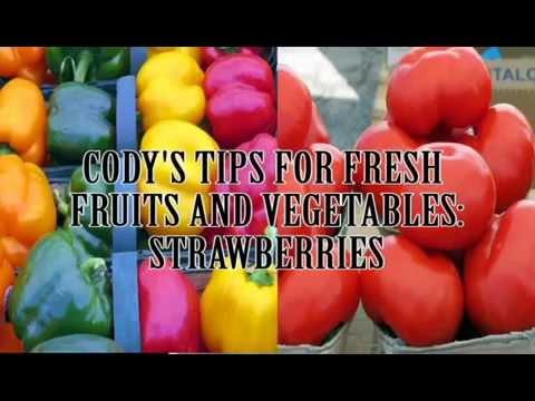 Sherway Farmers' Market - Fresh Veggies Tips with Cody Blyleven - Strawberries