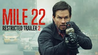 Mile 22 | Restricted Trailer 2 | In Theaters August 17, 2018 HD