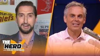 Losing Avery Bradley puts LeBron in tough spot, talks Dak & Antonio Brown — Nick Wright | THE HERD