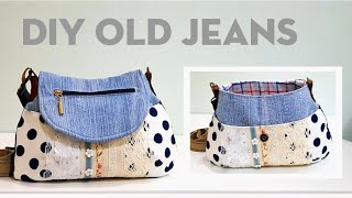 Diy old jeans into beautiful bag | Bag tutorial ❤❤