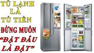 Theo phong thủy Tủ Lạnh là Tủ Tiền - Đừng tùy tiện muốn đặt đâu thì đặt