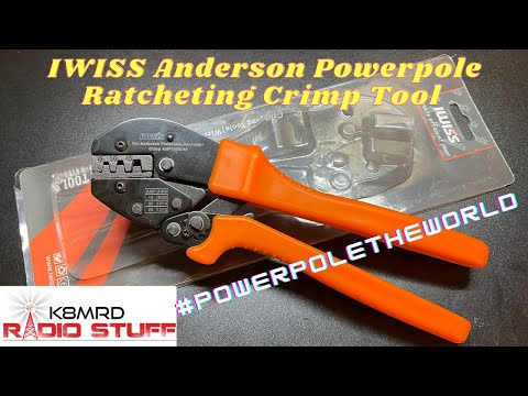 IWISS Powerpole Ratcheting Crimp Tool | But is it good??
