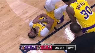 Anthony Davis right elbow Injured