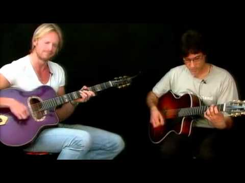 Gypsy Jazz Duets - Gypsy Bossa Performance - Frank Vignola & Andreas Oberg